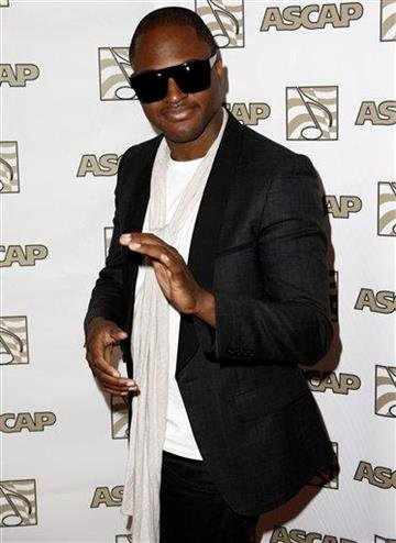 Musician Taio Cruz arrives at the 28th Annual ASCAP Pop Music Awards in Los Angeles, Wednesday, April 27, 2011. The ASCAP awards honor songwriters and publishers of the most performed songs of 2010. (AP Photo/Matt Sayles) By Matt Sayles