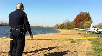 A small private plane crashed into Creve Coeur Lake Wednesday night, killing an elderly man and injuring his wife. By Belo Content KMOV