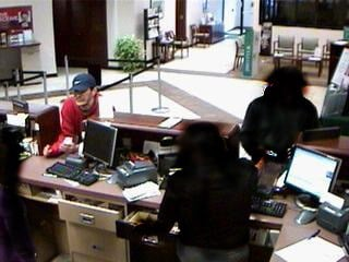 This December 1, 2011 surveillance photo shows a wanted suspect connected to a robbery at the Commerce Bank at Clayton Road and Demun in Clayton. By KMOV Web Producer