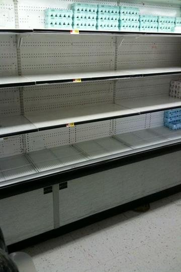 Egg cooler at the Litchfield, Illinois Wal-Mart By KMOV Web Producer