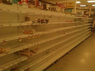 Schnucks at 141 and Clayton, around 10 p.m. Sunday By KMOV Web Producer