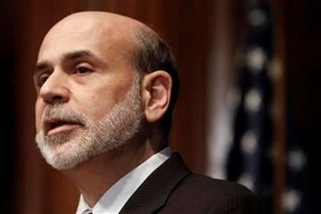 Federal Reserve Chairman Ben Bernanke speaks at the National Press Club in Washington, Thursday, Feb. 3, 2011, to discuss the economic recovery. (AP Photo/Jacquelyn Martin) By Jacquelyn Martin