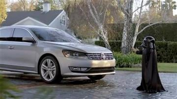 This image provided by Volkswagen shows a scene from one of the company's commercials that aired during the Super Bowl on Sunday, Feb. 6, 2011. (AP Photo/Volkswagen) NO SALES By Afton Spriggs