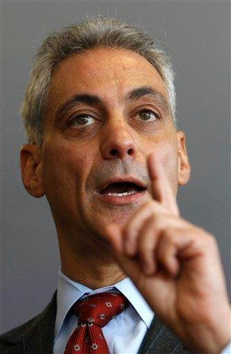 Chicago mayoral candidate Rahm Emanuel responds to a question during a campaign stop with leaders of the lesbian, gay bisexual and transgender community Friday, Jan. 28, 2011 in Chicago. (AP Photo/Charles Rex Arbogast) By Charles Rex Arbogast