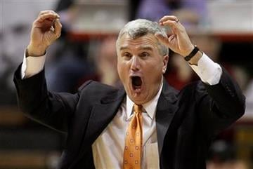 Illinois coach Bruce Weber yells to his team during the second half of an NCAA college basketball game against Indiana in Bloomington, Ind., Thursday, Jan. 27, 2011. Indiana won 52-49. (AP Photo/Darron Cummings) By Darron Cummings