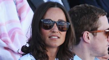 Pippa Middleton attends day two of the Aegon Championships at Queens Club on June 10, 2014 in London, England.  (Photo by Matthew Stockman/Getty Images) By Matthew Stockman