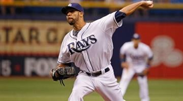 ST PETERSBURG, FL - JUNE 20:  David Price #14 of the Tampa Bay Rays pitches during the first inning against the Houston Astros at Tropicana Field on June 20, 2014 in St Petersburg, Florida.  (Photo by Scott Iskowitz/Getty Images) By Scott Iskowitz