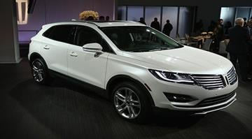 NEW YORK, NY - NOVEMBER 13: The all-new 2015 Lincoln MKC, Small Premium Utrility Vehicle, on November 13, 2013 in New York City. (Photo by Neilson Barnard/Getty Images for Lincoln Motor Company) By Stephanie Baumer