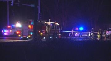 According to police, the accident occurred at the intersection of Lindbergh and Robbins Mill Road around 10:15 p.m. At least one person has died. By Stephanie Baumer