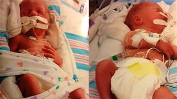 The newborns saved after the wreck. (Source: Family) By Daniel Fredman