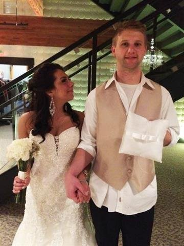 Briggs and Brittney Fussy first walked down the aisle 20 years ago. By Briggs Scott Fussy