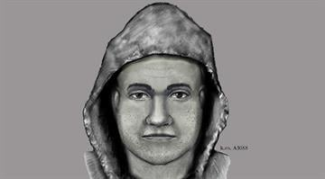 Police released this sketch of the suspect