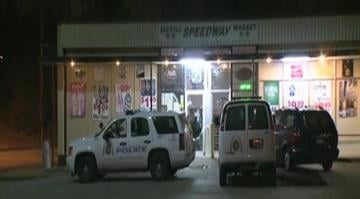 Authorities responded to the Speedway Market in the 3700 block of South Spring just before 5:00 a.m. after the store's burglar alarm was activated. By Stephanie Baumer