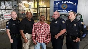 A teen and 3 Fort Lauderdale Police Officers will be commended for saving a Fort Lauderdale Police Officer's life. Jamal Rutledge helped save the life of Officer Franklin Foulks in September 2014 while Ofc. Foulks was booking him. By Stephanie Baumer