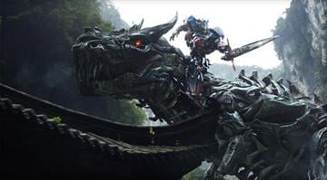 "Left to right: Grimlock and Optimus Prime in ""Transformers: Age of Extinction,"" from Paramount Pictures. By KMOV.com staff"