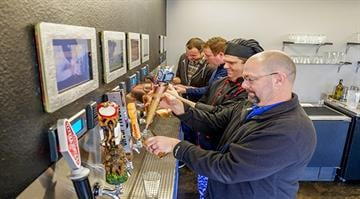 PourMyBeer's self-service beer walls and beer tables are already at 200 locations nationwide. By Stephanie Baumer