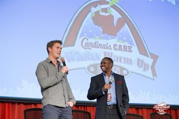 #BaseballStL: Cardinals Winter Warm Up 2015 // Day 2, featuring KMOV sports director, Maurice Drummond and special guest, Seth Maness of the St. Louis Cardinals. By Zach Dalin