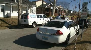 """Police received a call for """"shots fired"""" in the 4400 block of Itaska around 10:45 a.m. By Stephanie Baumer"""
