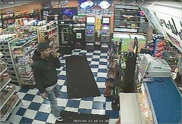 On Monday, police released surveillance photos of a man suspected of shooting a 23-year-old after a struggle inside a vehicle in the 8700 block of Jennings Station Road. By Stephanie Baumer