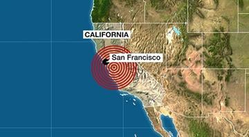 A 4.4-magnitude earthquake shook west-central California on Tuesday morning, Jan. 20, 2015. The quake was centered about 120 miles southeast of San Francisco, the U.S. Geological Survey said. No serious damage was immediately reported. By Stephanie Baumer