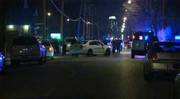 Police said a 19-year-old man was shot and killed by an officer in north St. Louis around 9:45 p.m. Wednesday night. By Stephanie Baumer