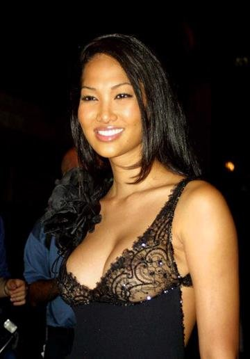 394095 03: Model Kimora Lee attends the Emanuel Ungaro Party Extravaganza September 5, 2001 in New York City. (Photo by Mario Tama/Getty Images) By Mario Tama