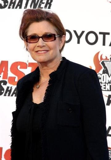 STUDIO CITY, CA - AUGUST 13:  Actress Carrie Fisher arrives at the Comedy Central Roast of William Shatner held at CBS Radford Studios on August 13, 2006 in Studio City, California.  (Photo by Kevin Winter/Getty Images) By Kevin Winter