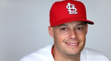 JUPITER, FL - FEBRUARY 19:  Joe Kelly #58 of the St. Louis Cardinals poses during photo day at Roger Dean Stadium on February 19, 2013 in Jupiter, Florida.  (Photo by Mike Ehrmann/Getty Images) By Mike Ehrmann