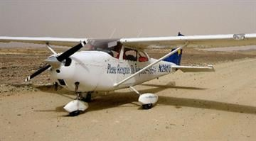 (File photo) Cessna 172 aircraft. A passenger who had no landing experience had to put down a plane By Belo Content KMOV