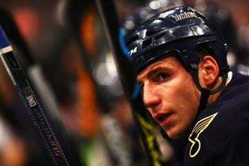 #20 Alexander Steen of St. Louis Blues(Photo by Paul Gilham/Getty Images) By Paul Gilham