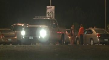 Police are searching for a suspect after two officers were shot in Jefferson County early Friday morning. By Brendan Marks