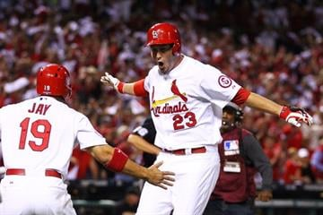 David Freese likes hitting in the postseason. Freese's 2-run homer helped propel the Cards past the Pirates 6-1 and into the NLCS. By Dilip Vishwanat