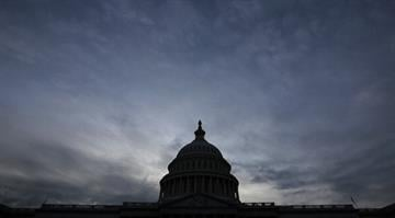 How lawmakers spent the day before threatened treasury default.   Hour after hour in Congress is taken up by secret meetings and frenzied maneuvering. By Win McNamee