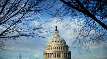 Tri-cornered coalition led to budget deal.  The measure won support from the White House, most Democrats in Congress and many Republicans fearful of the economic impact of a default. By Brendan Smialowski