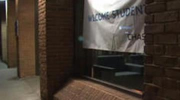 The location in Athens, Ohio where the alleged sexual assault took place. / CBS affiliate WBNS By Brendan Marks
