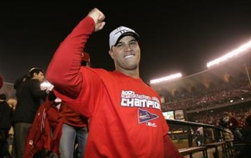 Albert Pujols won the 2004 NLCS MVP after defeating the Astros 5-2 and winning the series 4-3. By Elsa