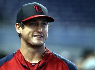 MIAMI, FL - JUNE 15: David Freese #23 of the St. Louis Cardinals takes batting practice against the Miami Marlins at Marlins Park on June 15, 2013 in Miami, Florida.  (Photo by Marc Serota/Getty Images) By Marc Serota