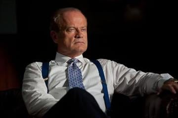 "In this image released by Starz Media, Kelsey Grammer portrays Chicago Mayor Tom Kane on the Starz original series, ""Boss."" (AP Photo/Starz, Chuck Hodes) By Chuck Hodes"