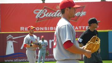 David Freese started at third base in Friday's game featuring the Cardinals and the Washington Nationals. (Brendan Marks/KMOV) By Lakisha Jackson