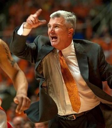 Illinois' head coach Bruce Weber during the second half of an NIT  third round college basketball game in Champaign, Ill. on Wednesday, March 24, 2010.  Dayton won 77-71.  (AP Photo/The News-Gazette/Robert K. O'Daniell) By Robert K. O'Daniell