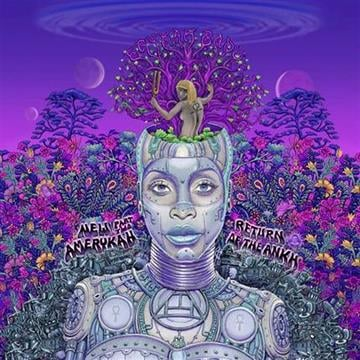 "In this CD cover image released by Universal Motown, Erykah Badu's ""Amerykah Part 2: Return of the Ankh,"" is shown. (AP Photo/Universal Motown)"