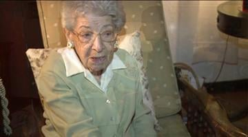 math teacher Madeline Scotto is 100 years old. By Stephanie Baumer