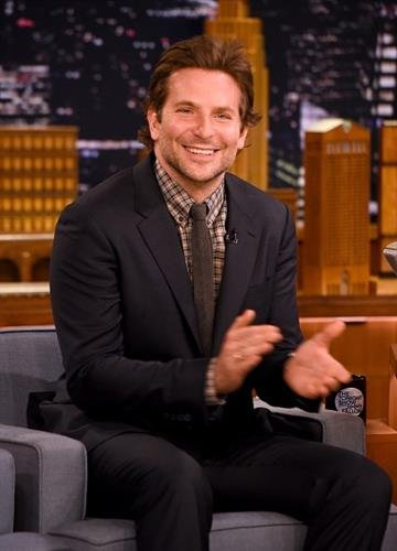 """NEW YORK, NY - OCTOBER 17:  Bradley Cooper Visits """"The Tonight Show Starring Jimmy Fallon"""" at Rockefeller Center on October 17, 2014 in New York City.  (Photo by Theo Wargo/NBC/Getty Images for """"The Tonight Show Starring Jimmy Fallon"""") By Theo Wargo/NBC"""