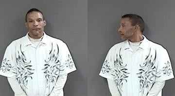 """Shane A. Kitterman, 36, was taken into custody after warrants were issued for """"Unlawful Failure to Register Correct Information as a Sex Offender-Subsequent,"""" According to police. By Stephanie Baumer"""