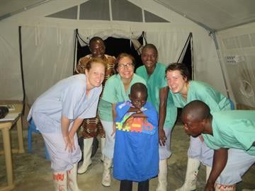 Kaci Hickox from her time in  Sierra Leone By Courtesy Kaci Hickox