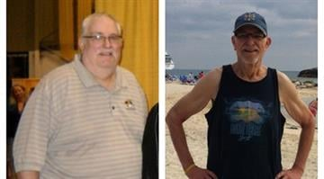 Jeff Baxter, a language arts teacher from Kansas City lost 270 pounds from previously tipping the scale at 465. By Stephanie Baumer