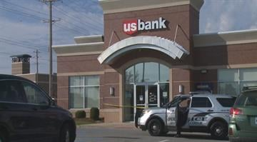 According to police, a man entered a U.S. Bank in the 11600 block of Olive Boulevard at 9:39 a.m. and left with an undisclosed amount of money after implying he had a weapon By Stephanie Baumer
