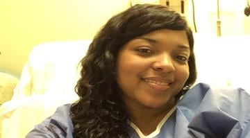 The PR firm retained by the family of Ebola victim Amber Vinson just released this picture of her in Emory Hospital. By Family of Amber Vinson
