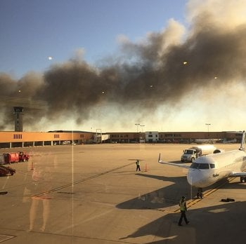 A plane appears to have crashed at a building at Wichita's Mid-Continent Airport in southern Kansas on Thursday morning, CNN affiliate KSNW reported. By Jeffrey Hough