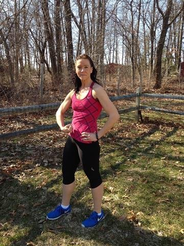 [5/5] Now at 156 pounds, she plans to keep up this healthy lifestyle. By Courtesy Kari Ianuale